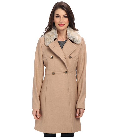 Jessica Simpson - JOFMH854 Coat (Camel) Women's Coat