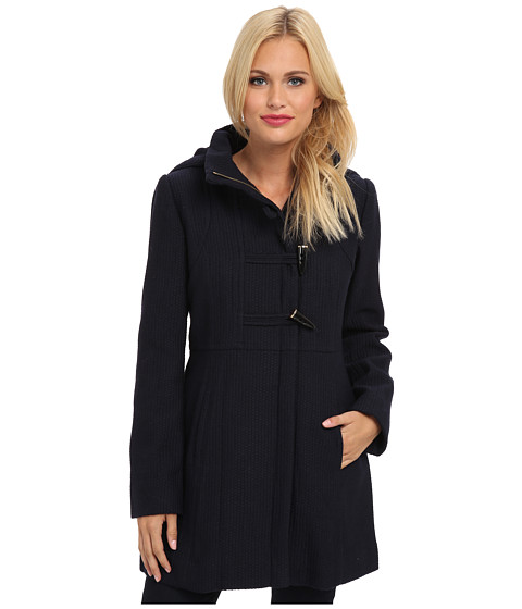 Jessica Simpson - JOFMH767 Coat (Navy) Women's Coat