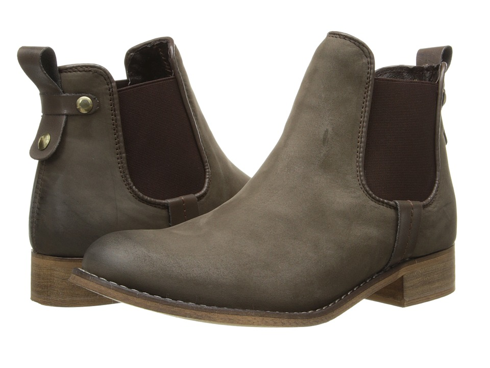 Steve Madden - Gilte (Brown Nubuck) Women's Pull-on Boots