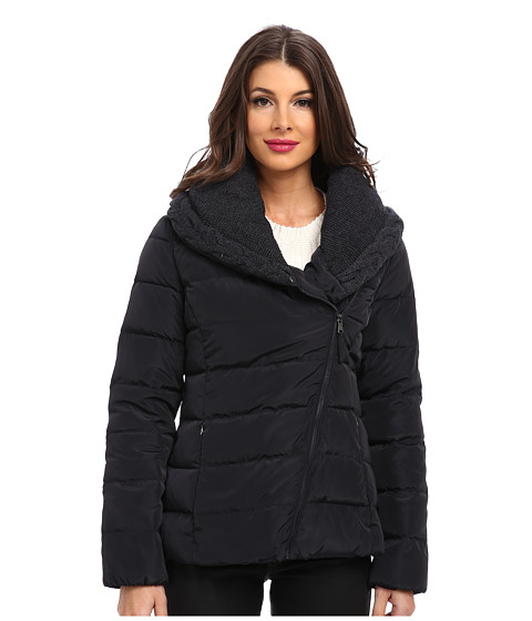 Jessica Simpson - JOFMD771 Coat (Navy) Women's Coat
