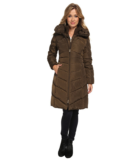 Jessica Simpson - JOFMD007 Coat (Military) Women's Coat