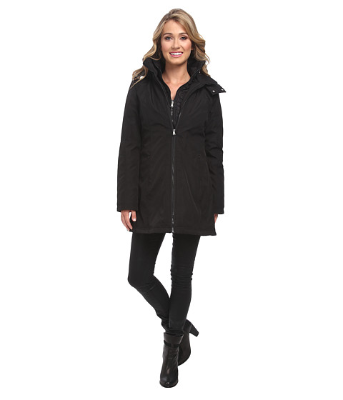 Jessica Simpson - JOFMP741 Coat (Black) Women