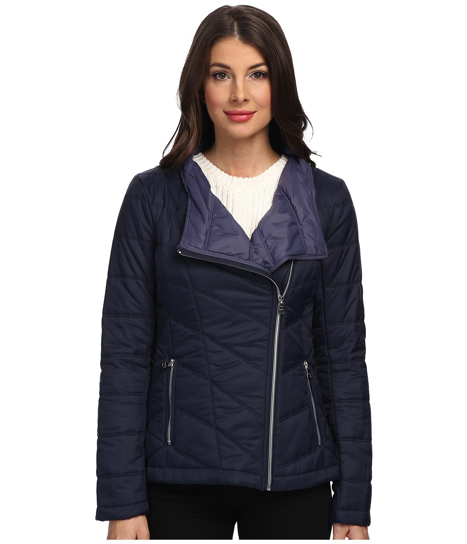 Jessica Simpson - JOFMP717 Coat (Navy) Women's Coat