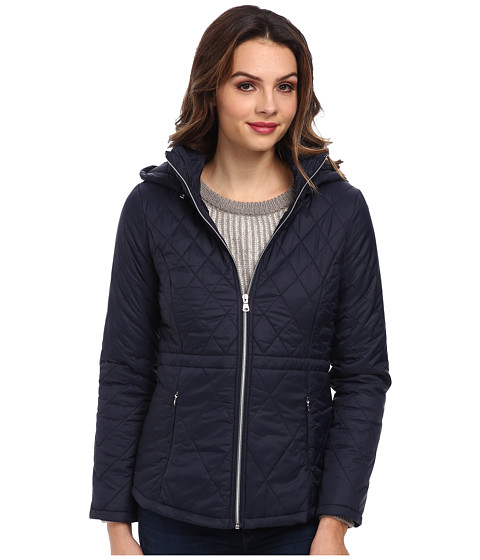 Jessica Simpson - JOFMP817 Coat (Navy) Women's Coat