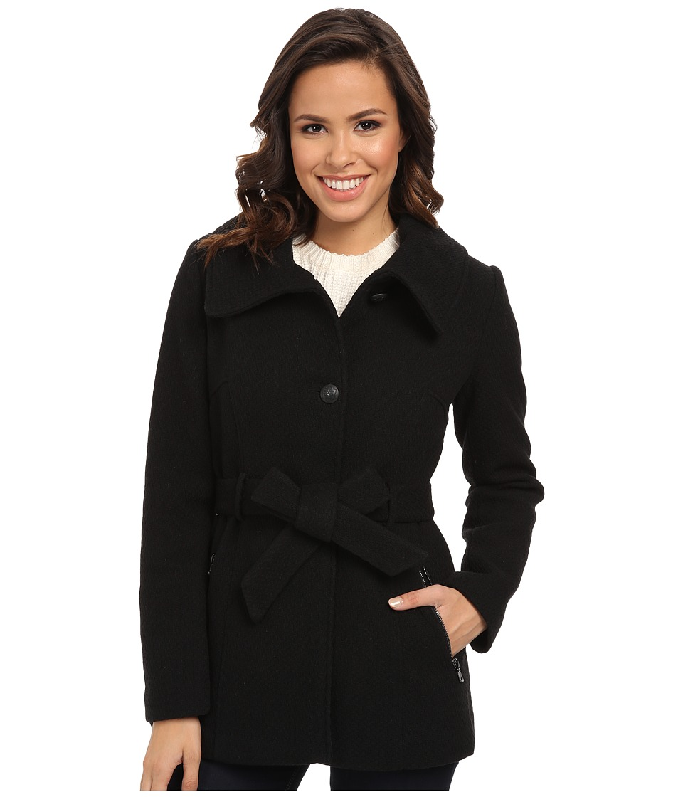 Jessica Simpson - JOFMA908 Coat (Black) Women's Coat