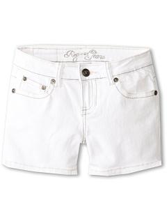 SALE! $15.99 - Save $12 on Request Kids Fleur De Lis Short (Big Kids) (White) Apparel - 42.89% OFF $28.00