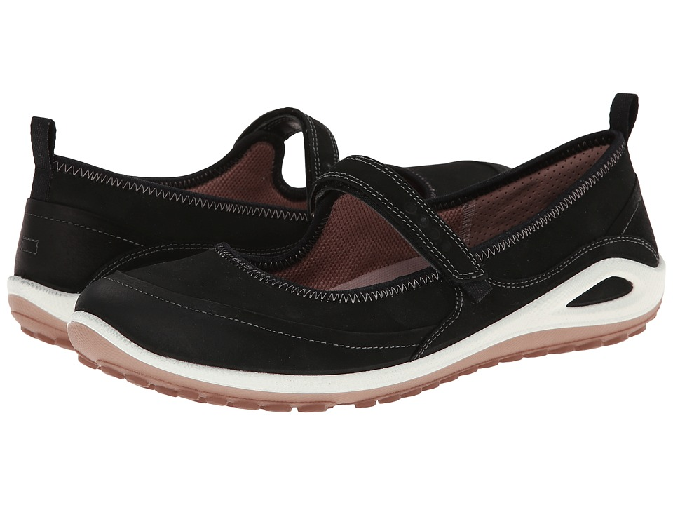 ECCO Sport - Biom Grip Lite Maryjane (Black/Woodrose) Women's Shoes