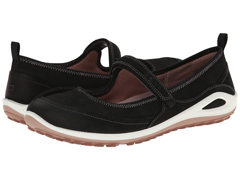 ECCO Sport - Biom Grip Lite Maryjane (Black/Woodrose) Women