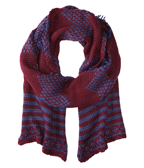 Echo Design - Highland Girl Muffler (Boysenberry) Scarves