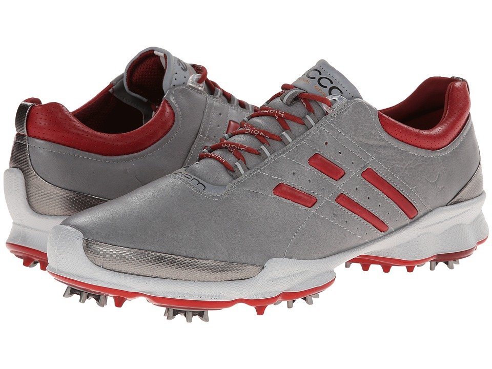 ECCO Golf - Biom Golf (Wild Dove/Brick) Men's Golf Shoes