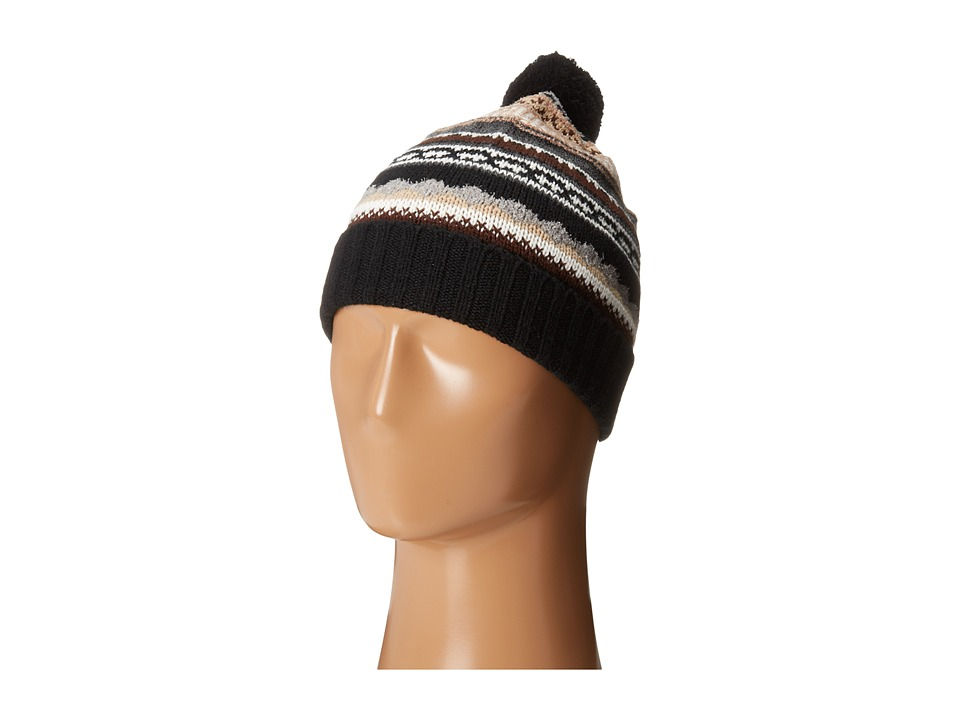 Echo Design - Northern Fair Isle Cuff Hat (Black Neutral) Knit Hats