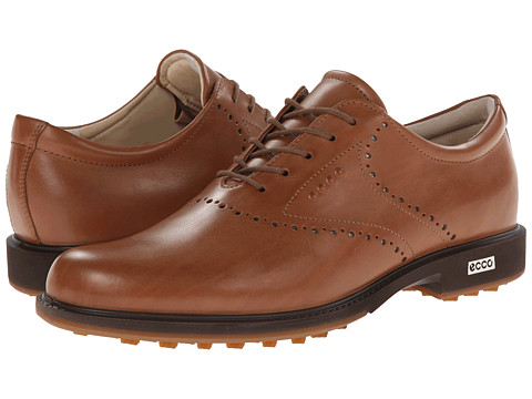 ECCO Golf - Tour Hybrid HYDROMAX (Whiskey/Orange) Men