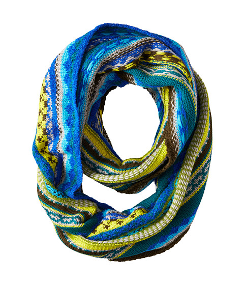Echo Design - Northern Fair Isle Infinity Ring (Vibrant Teal) Scarves