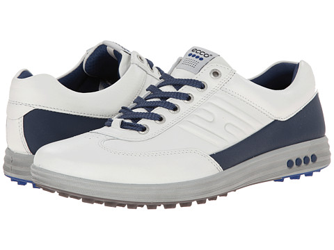 ECCO Golf - Street EVO One (White/Royal) Men