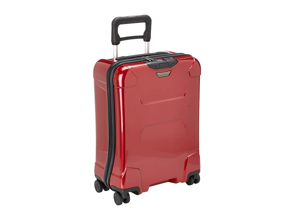 Briggs & Riley - Torq International Carry On Wide Body Spinner (Ruby Red) Carry on Luggage