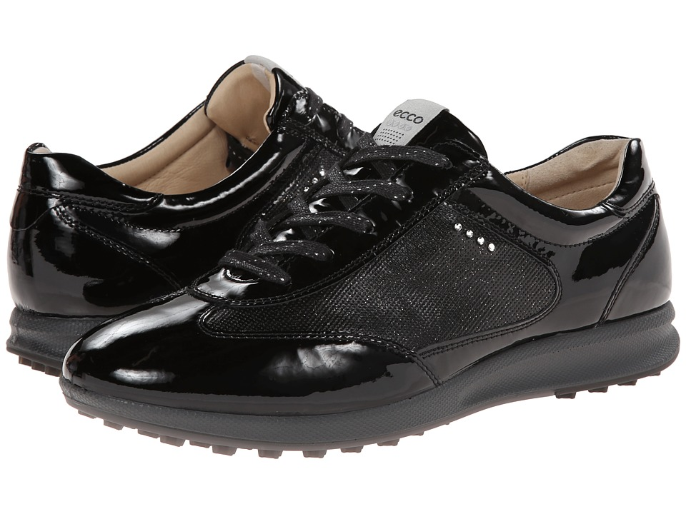 ECCO Golf - Street EVO One Luxe (Black) Women's Golf Shoes