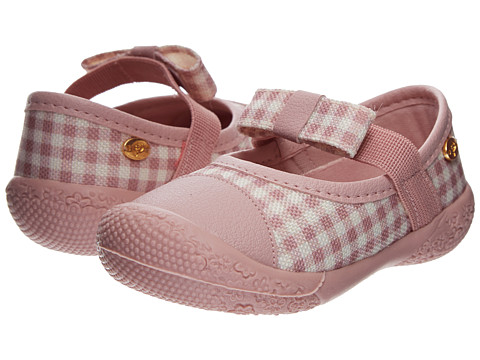 Pampili - Cuti Cuti 232077 (Infant/Toddler) (Pink Gingham) Girl's Shoes