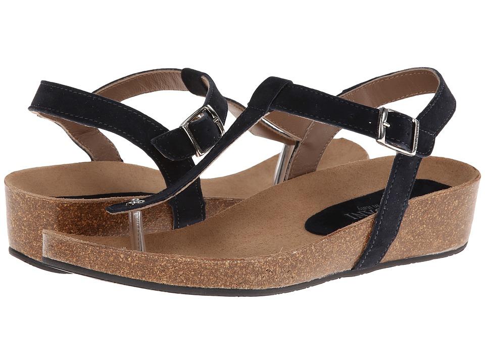 Cordani - Gene (Navy Suede) Women's Sandals