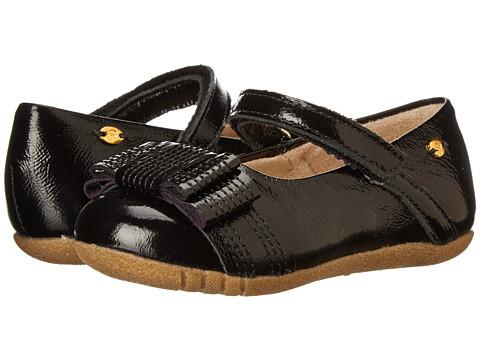 Pampili - Lara Sapato 248059 (Infant/Toddler) (Black Patent) Girl's Shoes