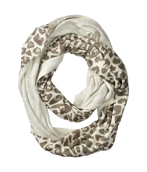 Echo Design - Milk Made Cheetah Ring (Cream) Scarves