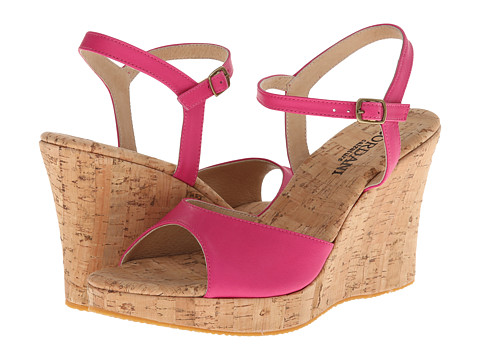 Cordani - Westminster (Pink Leather/Cork) Women's Wedge Shoes