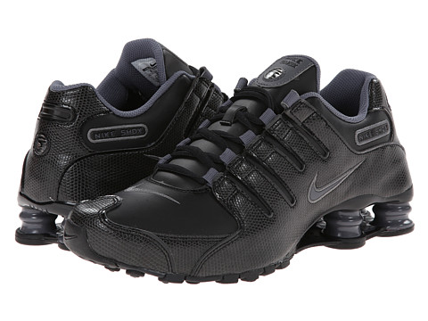 Nike - Nike Shox NZ EU (Black/Dark Grey/Black) Women's Shoes