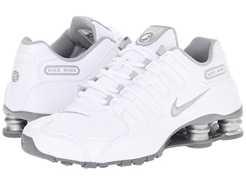 Nike - Nike Shox NZ EU (White/Metallic Silver/Cool Grey) Women's Shoes