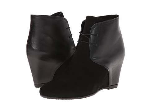 Cordani - Langley (Black Suede/Black Leather) Women's Boots