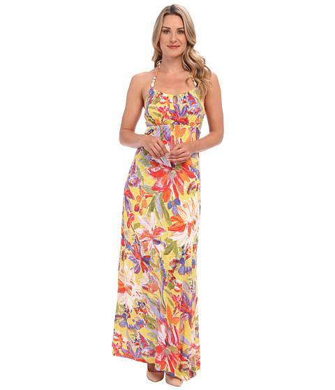 Tommy Bahama - Noli Blooms Halter Dress (Lime Twist) Women's Dress