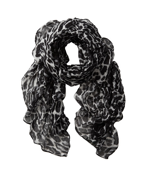 LAUREN by Ralph Lauren - Kimberly Scarf (Black) Scarves