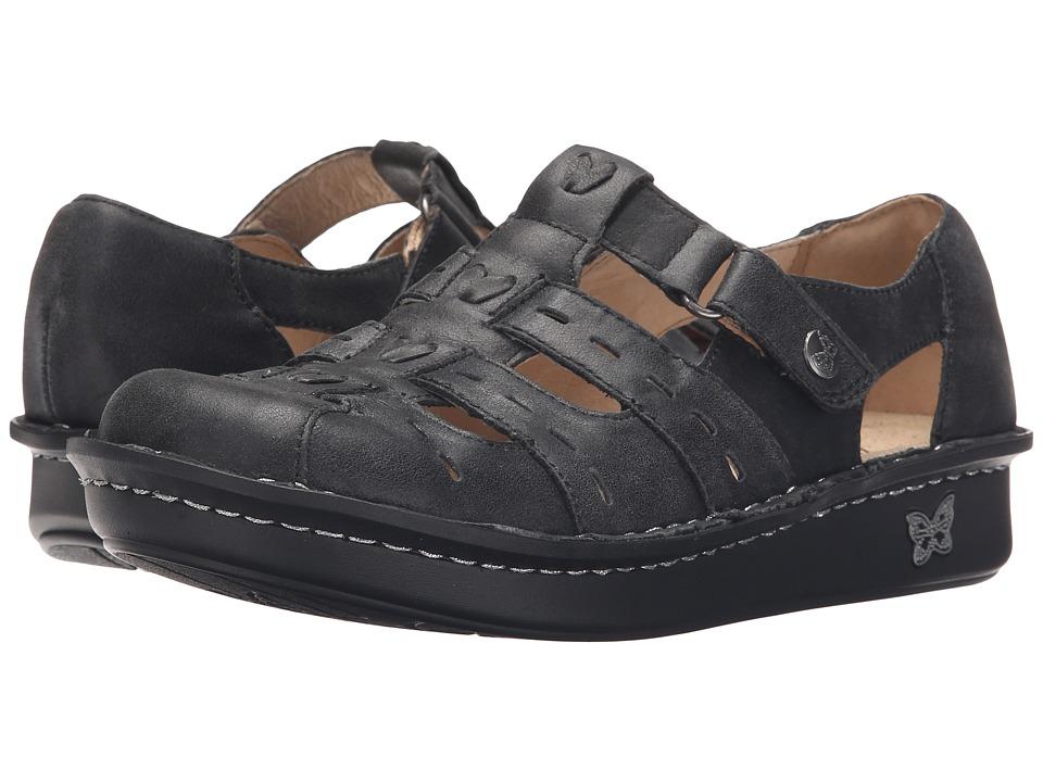 Alegria - Pesca (Black Magic) Women's Hook and Loop Shoes