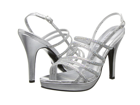 Touch Ups - Julie (Silver Metallic) High Heels