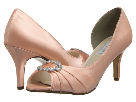 Touch Ups - Olivia (Blush) Women's Bridal Shoes