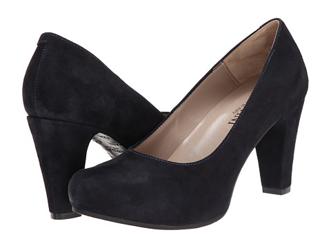 Cordani - Newhart (Navy Suede) Women's 1-2 inch heel Shoes