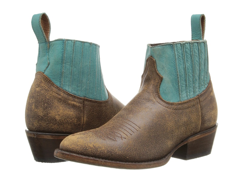 Matisse - Mustang (Turquoise/Tan) Women's Boots