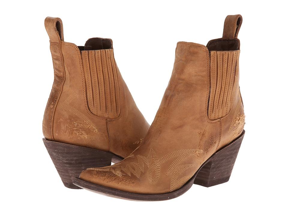 Old Gringo - Gaucho Long Stitch (Tan) Cowboy Boots