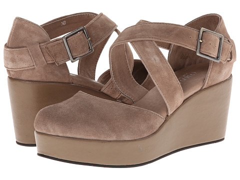 Cordani - Dallace (Taupe Suede) Women's Wedge Shoes