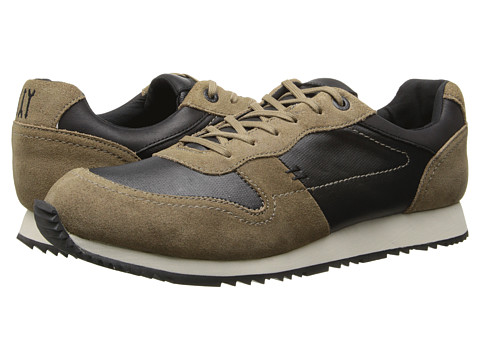 JD Fisk - Judah (Olive Waxy) Men's Lace up casual Shoes