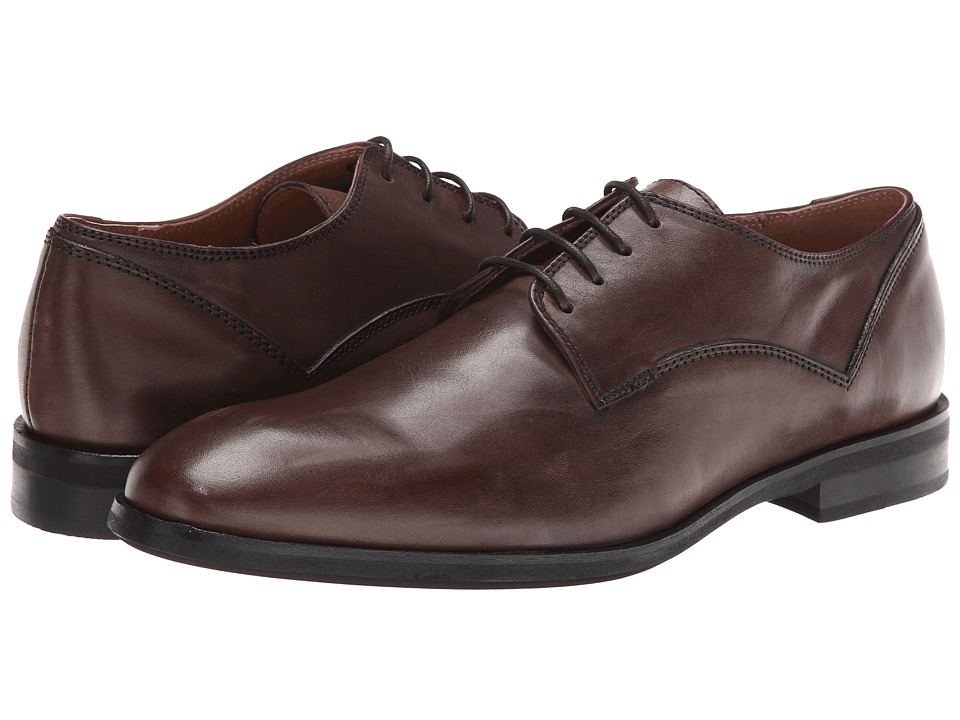 JD Fisk - Oakey (Chocolate Leather) Men's Shoes
