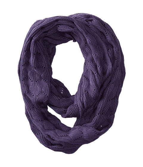 Echo Design - Soft Diamond Stitch Infinity Ring (Iris) Scarves