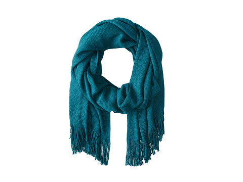 Echo Design - Milk Made Wrap (Vibrant Teal) Scarves