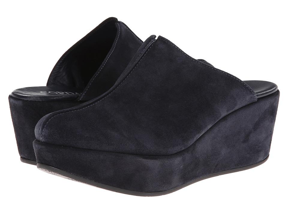Cordani - Darma 2 (Navy Suede) Women's Clog Shoes