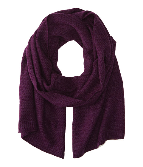 Echo Design - Cashmere Blend Wrap (Purple) Scarves