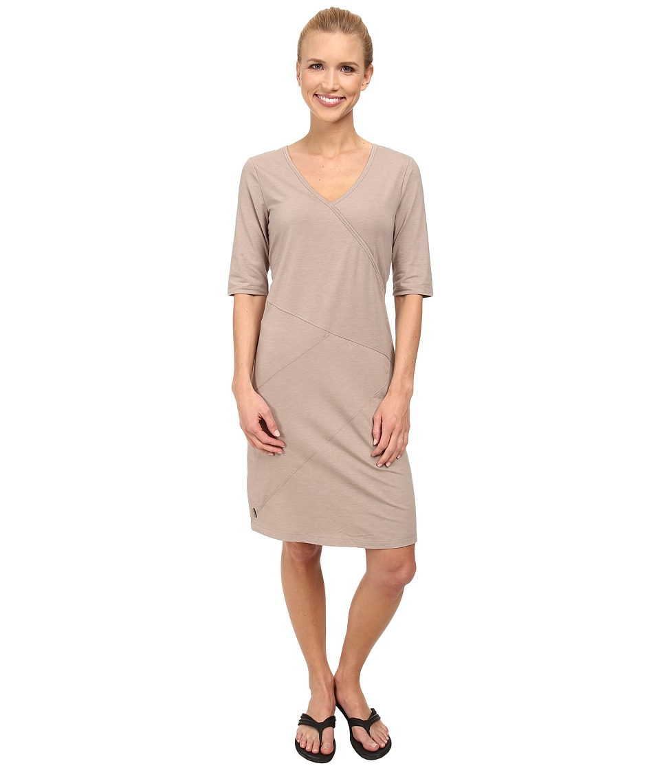 Lole Leena V-Neck Dress (Biscotti Heather) Women