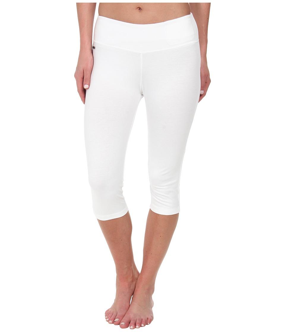Lole - Serene Capri (White) Women's Capri