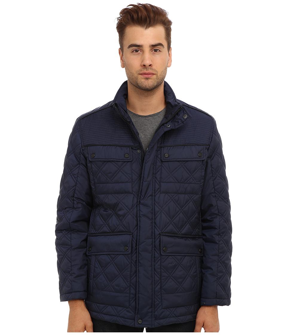 Marc New York by Andrew Marc - Patton Jacket (Indigo) Men's Coat