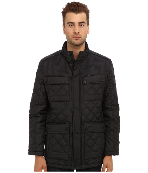 Marc New York by Andrew Marc - Patton Jacket (Black) Men's Coat