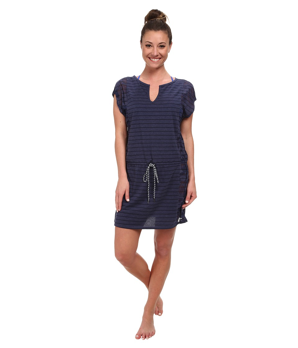 Lole - Salsa Short-Sleeve Dress (Amalfi Blue Gelato) Women
