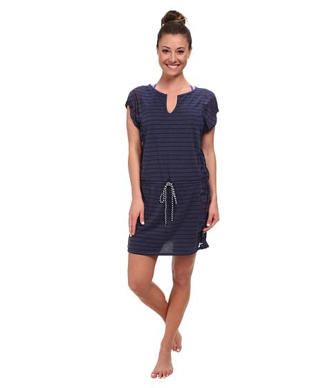 Lole - Salsa Short-Sleeve Dress (Amalfi Blue Gelato) Women