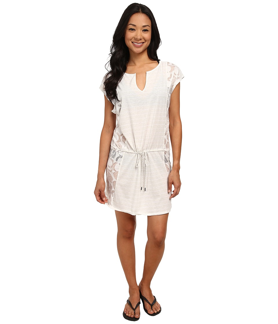 Lole Salsa Short-Sleeve Dress (White Gelato) Women